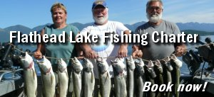 Book your fishing charter on Flathead Lake now!